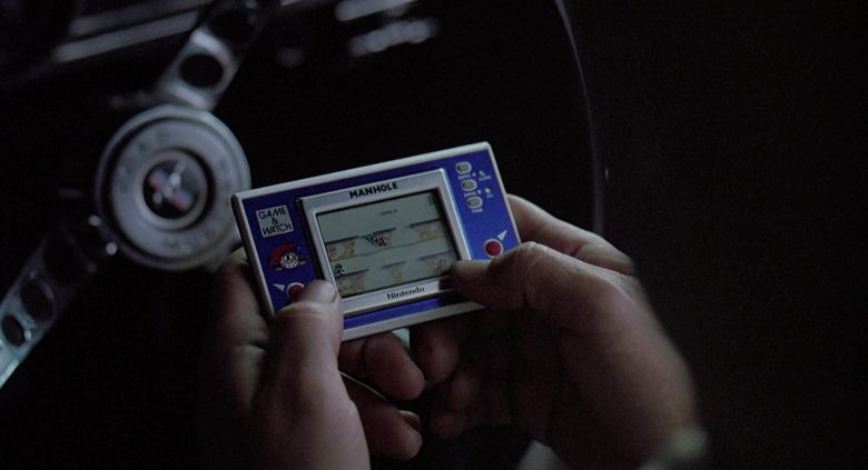 Nintendo Game and Watch Manhole Used by Jim Belushi in K-9 (1989) Movie