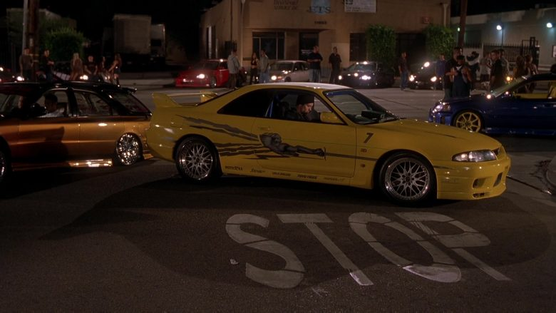 Nissan Skyline GT-R Yellow Car in The Fast and the Furious (1)