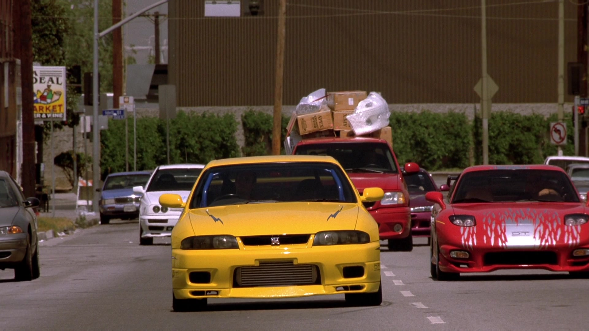 Nissan Skyline Gt R Yellow Car In The Fast And The Furious 2001