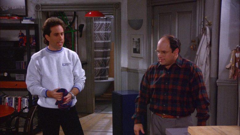 Northwest Podiatric Laboratory Sweatshirt Worn by Jerry Seinfeld in Seinfeld Season 6 Episode 7 (1)