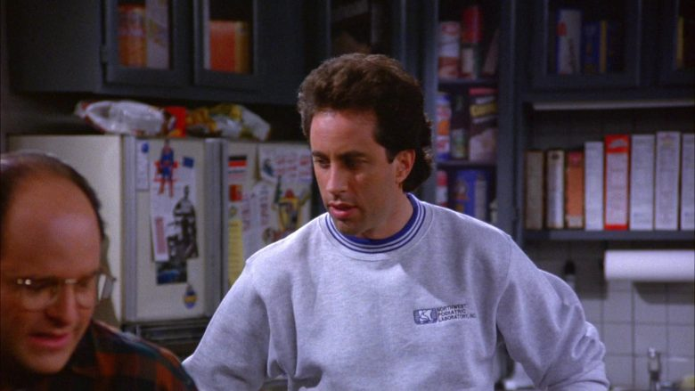 Northwest Podiatric Laboratory Sweatshirt Worn by Jerry Seinfeld in Seinfeld Season 6 Episode 7 (2)