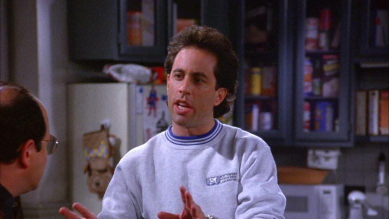 Northwest Podiatric Laboratory Sweatshirt Worn by Jerry Seinfeld in Seinfeld Season 6 Episode 7 (3)