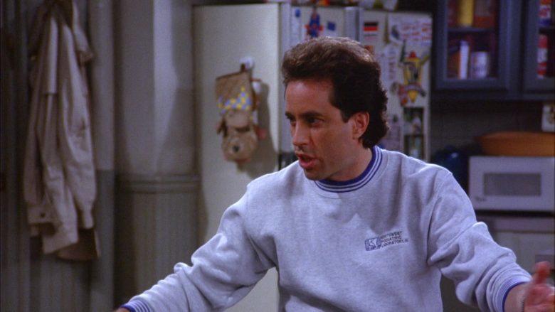 Northwest Podiatric Laboratory Sweatshirt Worn by Jerry Seinfeld in Seinfeld Season 6 Episode 7 (5)
