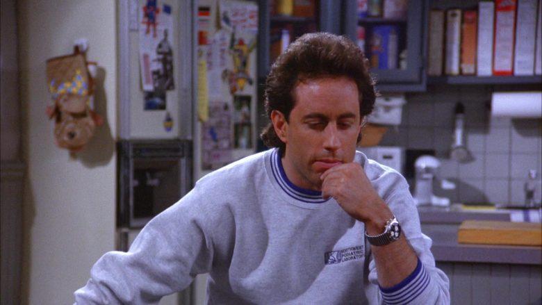 Northwest Podiatric Laboratory Sweatshirt Worn by Jerry Seinfeld in Seinfeld Season 6 Episode 7 (6)