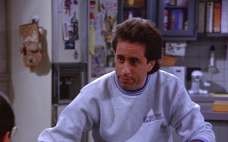 Northwest Podiatric Laboratory Sweatshirt Worn by Jerry Seinfeld in Seinfeld Season 6 Episode 7 (8)
