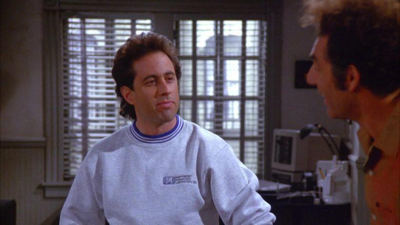 Northwest Podiatric Laboratory Sweatshirt Worn by Jerry Seinfeld in Seinfeld Season 6 Episode 7 (9)