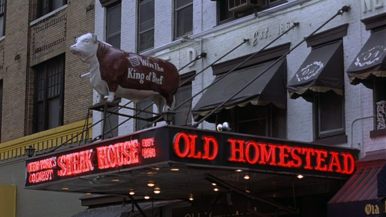 Old Homestead Steakhouse in Seinfeld Season 7 Episode 4 The Wink (1)