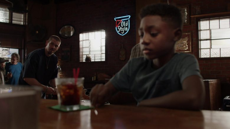 Old Style Beer Neon Sign in Shameless Season 10 Episode 4