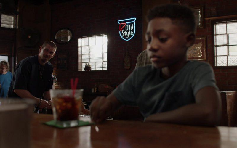Old Style Beer Neon Sign in Shameless Season 10 Episode 4