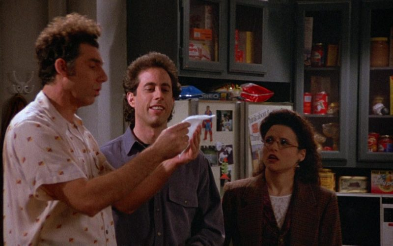 Oreo Cookies and Jiffy Pop Popcorn in Seinfeld Season 4 Episode 22 (1)