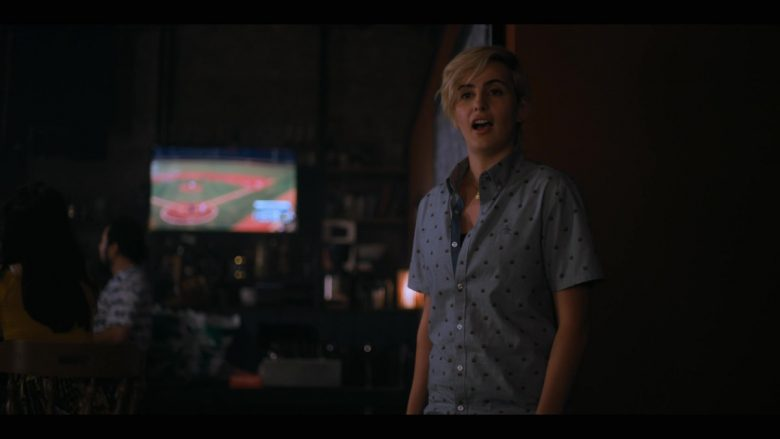 Original Penguin Shirt Worn by Jacqueline Toboni as Sarah Finley in The L Word Generation Q Season 1 Episode 2 Less Is More (6)
