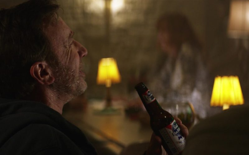 Pabst Blue Ribbon Beer Enjoyed by Tim Allen in El Camino Christmas (1)