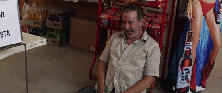 Pabst Blue Ribbon Beer in El Camino Christmas (6)
