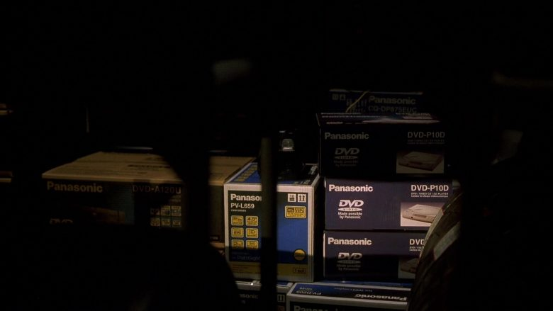 Panasonic DVD Players in The Fast and the Furious (1)