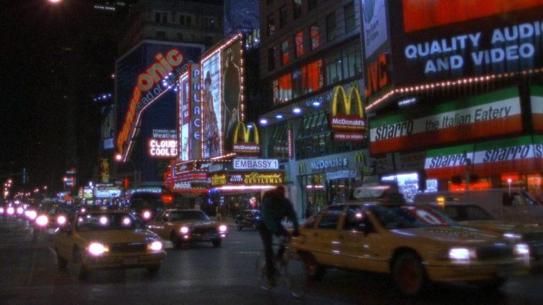 Panasonic, McDonald's, Sbarro in Seinfeld Season 7 Episode 8 The Pool Guy (2)