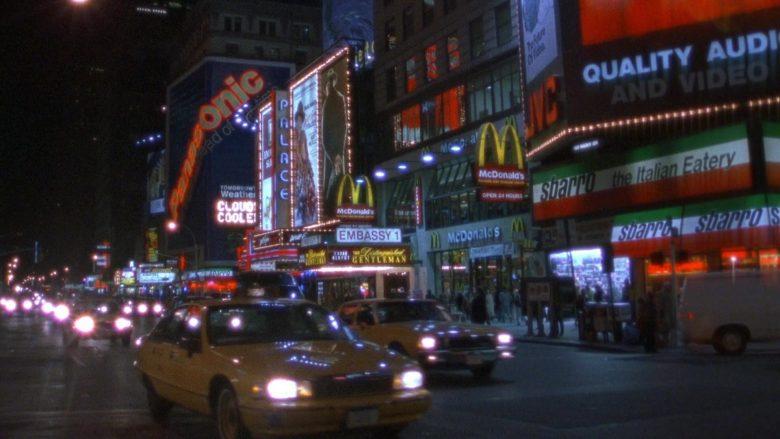 Panasonic, McDonald's, Sbarro in Seinfeld Season 7 Episode 8 The Pool Guy (3)