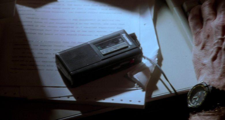 Panasonic Mini Cassette Recorder in K-911 (1999)