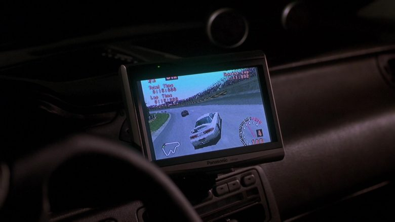 Panasonic Monitor in The Fast and the Furious