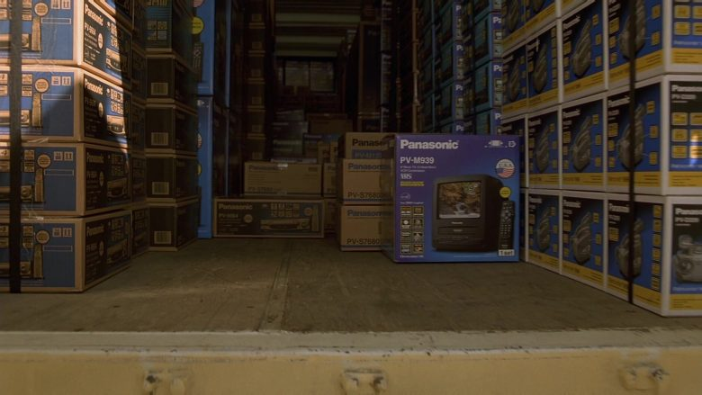 Panasonic TVs and Recorders in The Fast and the Furious (2)
