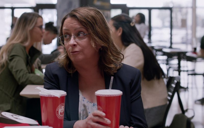 Panda Express Food and Drinks Enjoyed by Rachel Dratch in Shameless Season 10 Episode 7 Citizen Carl (1)
