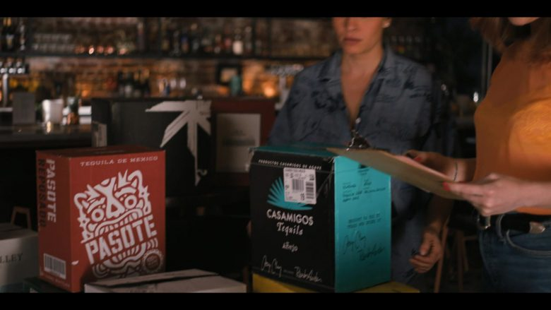 Pasote and Casamigos Tequilas in The L Word Generation Q Season 1 Episode 4 LA Times