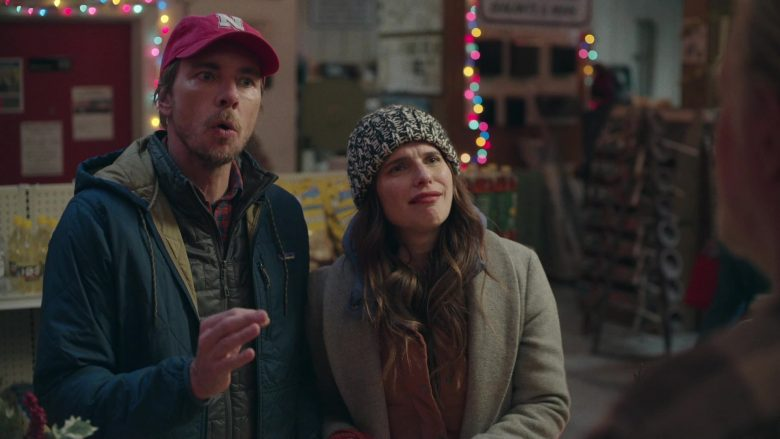 Patagonia Blue Jacket For Men Worn by Dax Shepard as Mike Levine-Young in Bless This Mess Season 2 Episode 9 (1)