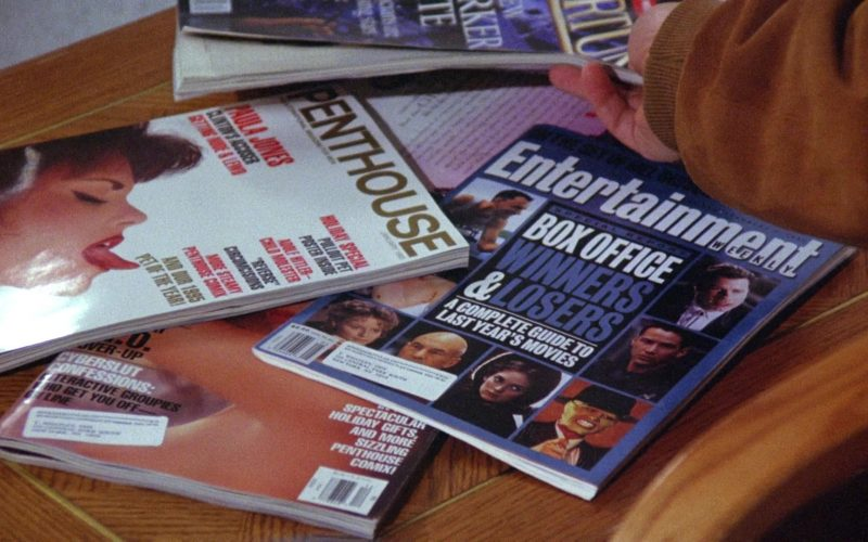 Penthouse and Entertainment Weekly Magazines in Seinfeld Season 6 Episode 19