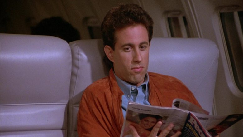 People Magazine Held by Jerry Seinfeld in Seinfeld Season 3 Episode 4 The Dog (2)