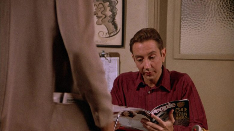 People Magazine in Seinfeld Season 4 Episode 1 The Trip (Part 1) (1)