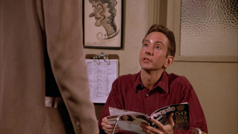 People Magazine in Seinfeld Season 4 Episode 1 The Trip (Part 1) (2)