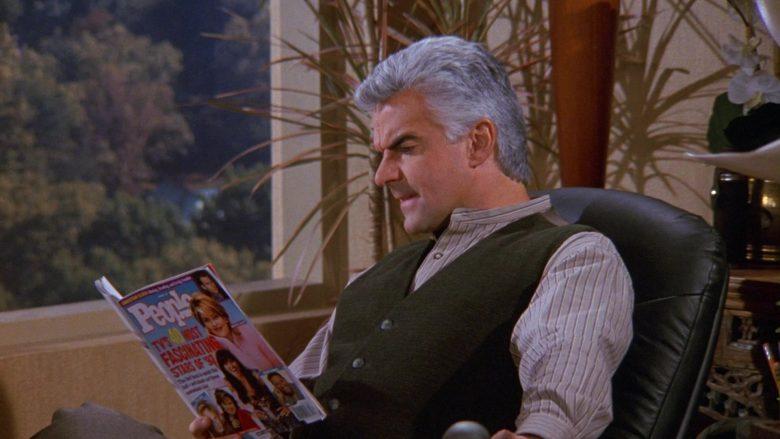 People Magazine in Seinfeld Season 9 Episode 6 The Merv Griffin Show