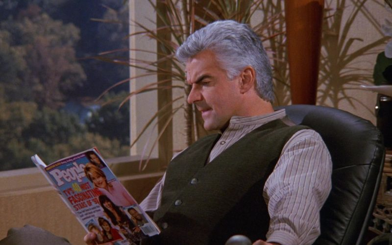 People Magazine in Seinfeld Season 9 Episode 6 The Merv Griffin Show