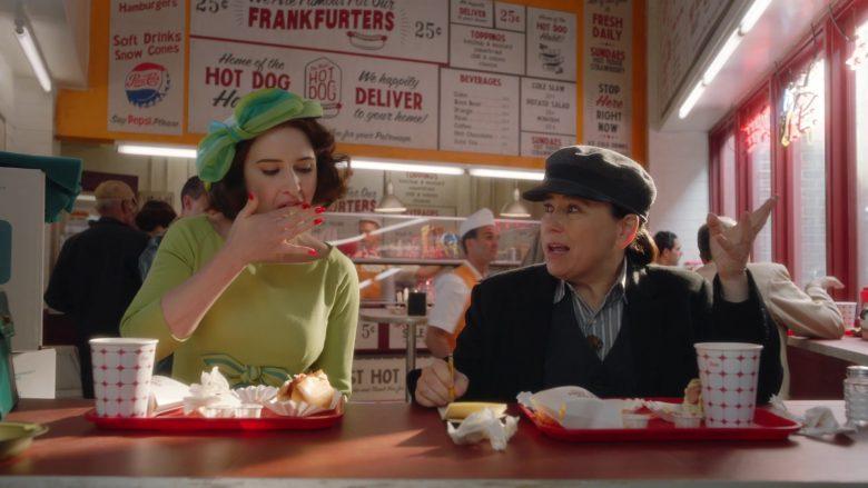 Pepsi Cola in The Marvelous Mrs. Maisel Season 3 Episode 7