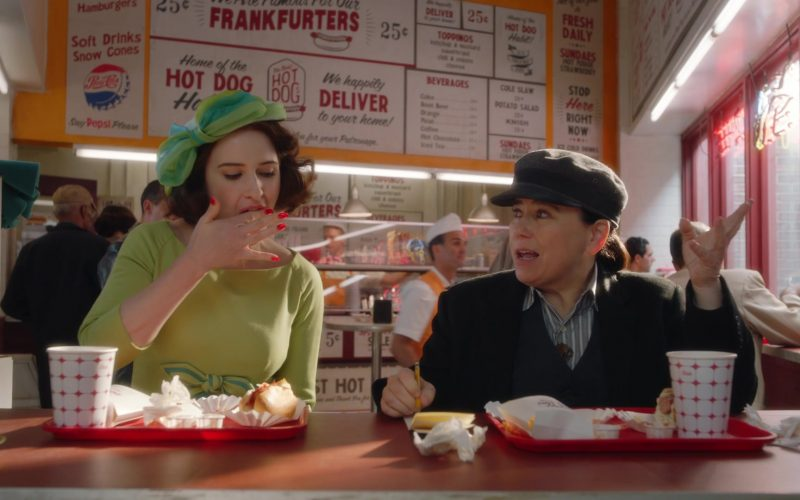 Pepsi Cola in The Marvelous Mrs. Maisel Season 3 Episode 7
