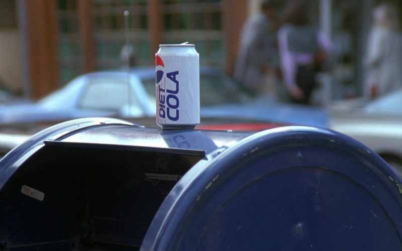 Pepsi Diet Cola Can in Seinfeld Season 7 Episode 21-22 The Bottle Deposit