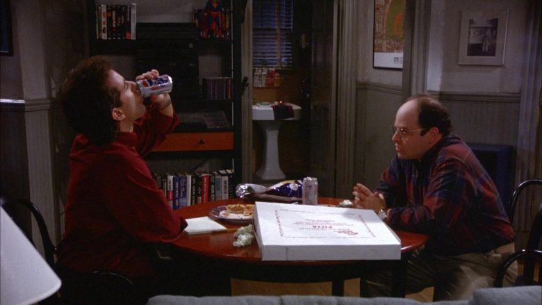 Pepsi Diet Soda Enjoyed by Jerry Seinfeld in Seinfeld Season 6 Episode 11 The Switch
