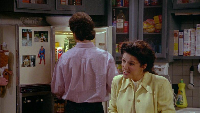 Pepsi and Sealtest in Seinfeld Season 5 Episode 3 The Glasses