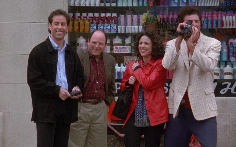 Pepsodent Toothpaste in Seinfeld Season 9 Episodes 23-24 The Finale