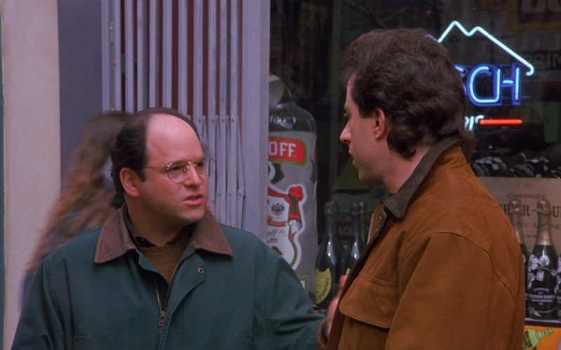 Perrier-Jouët Champagne Bottles in Seinfeld Season 6 Episode 12 The Label Maker