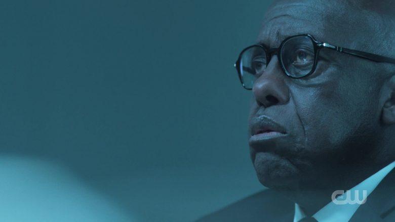 Persol Eyeglasses Worn by Bill Duke as Agent Percy Odell in Black Lightning Season 3 Episode 9