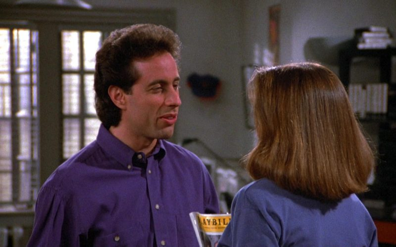 Playbill Magazine in Seinfeld Season 6 Episode 14-15 The Highlights of 100