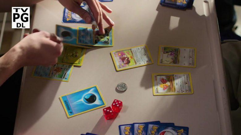 Pokémon Cards in Schooled Season 2 Episode 9 The Pokémon Society (2)