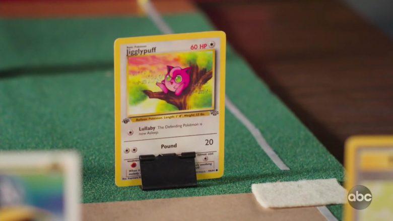 Pokémon Cards in Schooled Season 2 Episode 9 The Pokémon Society (6)