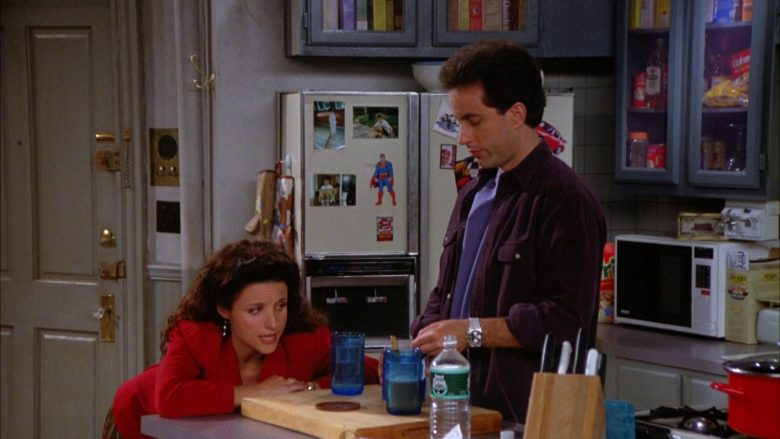Poland Spring Water in Seinfeld Season 5 Episode 7 The Non-Fat Yogurt (1)