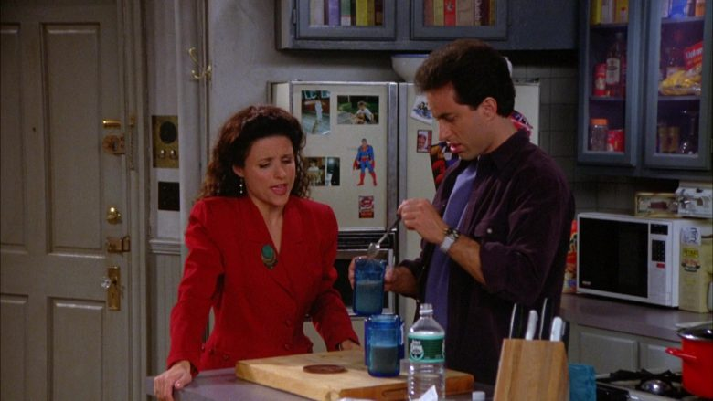 Poland Spring Water in Seinfeld Season 5 Episode 7 The Non-Fat Yogurt (2)