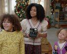 Polaroid Camera Held by Arica Himmel as Rainbow 'Bow' Johnson in Mixed-ish Season 1 Episode 10 (2)