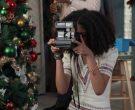 Polaroid Camera Held by Arica Himmel as Rainbow 'Bow' Johnson in Mixed-ish Season 1 Episode 10 (3)