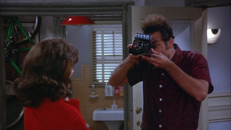 Polaroid Camera Used by Michael Richards as Cosmo Kramer in Seinfeld Season 6 Episode 17 (1)