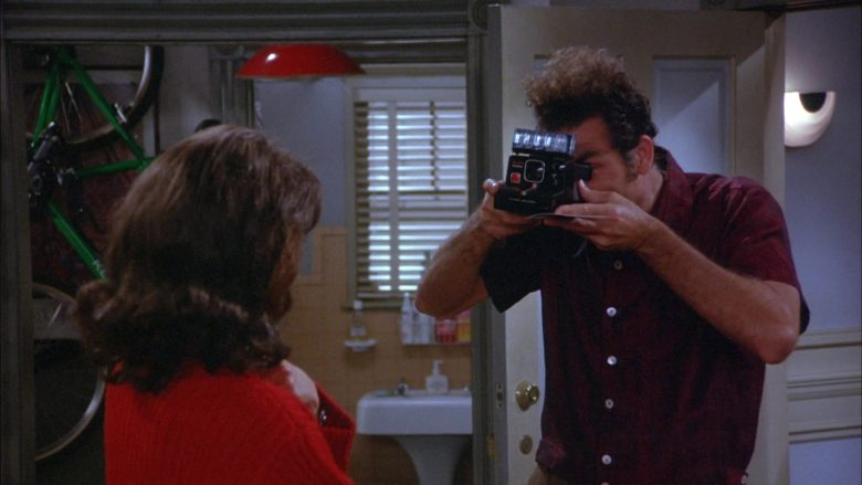 Polaroid Camera Used by Michael Richards as Cosmo Kramer in Seinfeld Season 6 Episode 17 (2)