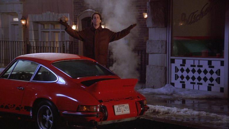 Porsche 911 Carrera RS 2.7 Red Sports Car in Seinfeld Season 7 Episode 11 The Rye